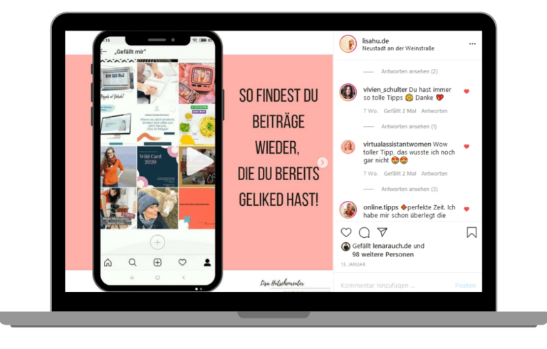 Instatipp Lisa Hutschenreuter Instagram Marketing