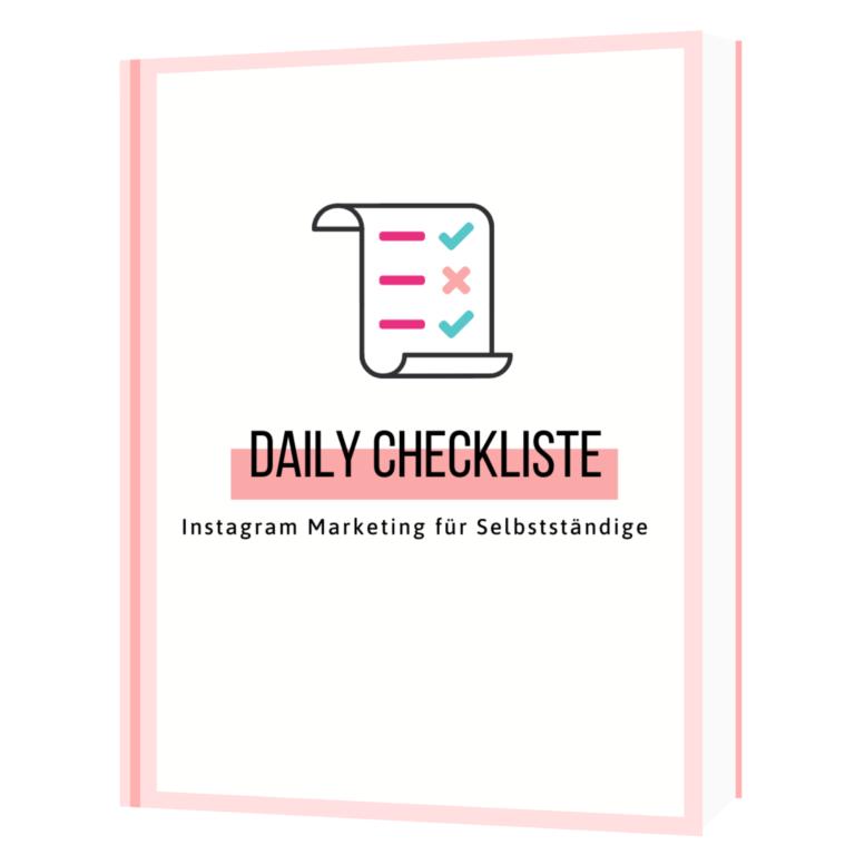 Daily Checkliste Freebie
