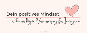 Positives Mindset im Social Media Marketing
