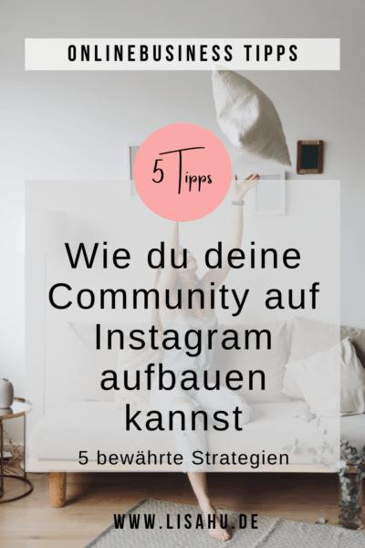 Wie du deine Community auf Instagram aufbaust