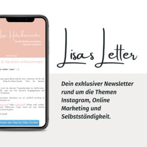 Der Inner Circle: Werde Lisas Letter Leser*in