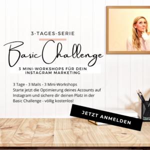 Die kostenlose Basic Challenge