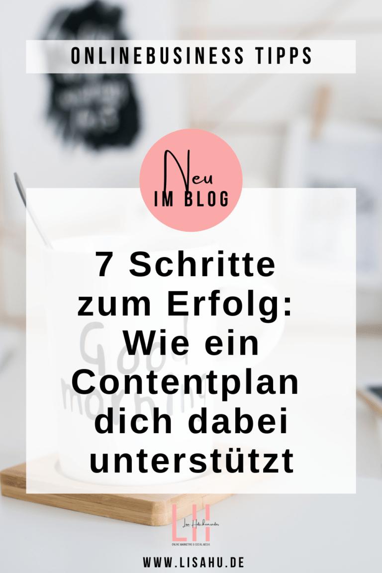 Contentplan einfach und schnell erstellen