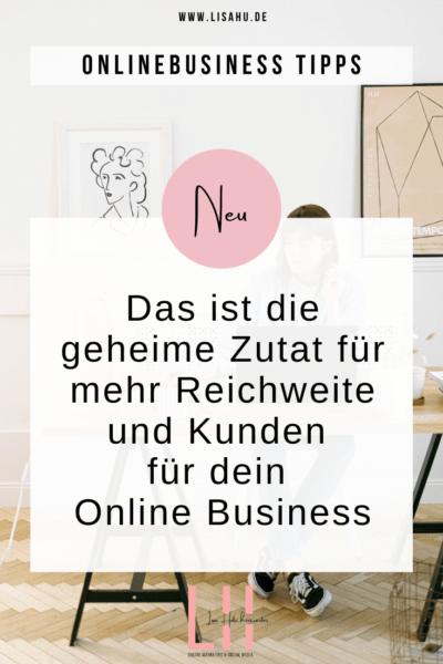 Mehr Reichweite und Kunden für dein Online Business mit deiner Personalbrand