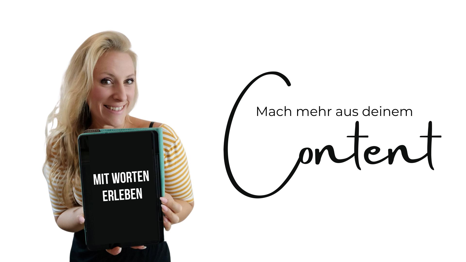 Content Text und Social Media Creator Lisa Hutschenreuter