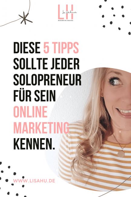 5 Tipps Online Marketing für Selbstständige Social